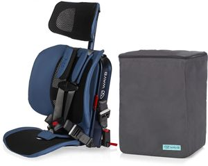WAYB Pico Forward Facing Travel Car Seat + Travel Bag - Midnight