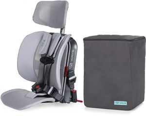 WAYB Pico Forward Facing Travel Car Seat + Travel Bag - Slate