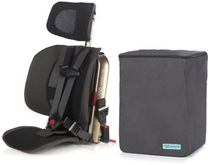 WAYB Pico Forward Facing Travel Car Seat + Travel Bag - Earth