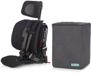 WAYB Pico Forward Facing Travel Car Seat + Travel Bag - Jet