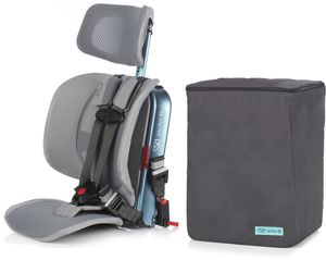 WAYB Pico Forward Facing Travel Car Seat + Travel Bag - Ocean