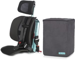WAYB Pico Forward Facing Travel Car Seat + Travel Bag - Turquoise