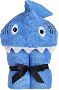 Yikes Twins Hooded Towel - Shark