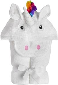 Yikes Twins Hooded Towel - Unicorn