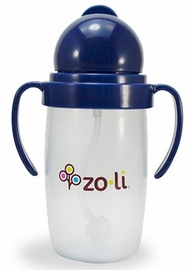 ZoLi Bot 2.0 10 oz Straw Sippy Cup - Navy