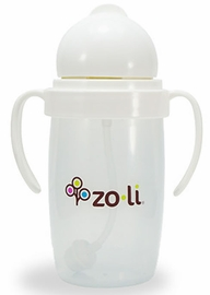 ZoLi Bot 2.0 10 oz Straw Sippy Cup - White