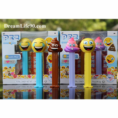 2018 Emoji Pez Twin Packs: Poop, Rainbow Poop, Happy & LOL, COMBO!