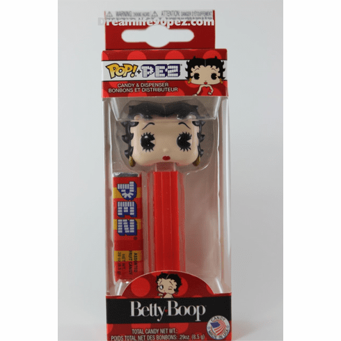 Betty Boop Funko Pez, Choose Loose or Mint in Box