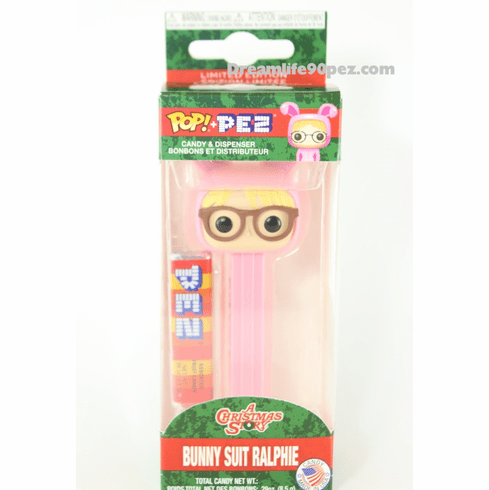 Bunny Suit Ralphie Funko Pez, A Christmas Story, Mint in Box ONLY 1 IN STOCK