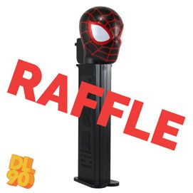 MAY THROUGH JUNE 10th 2020 RAFFLE WINNERS! WINNERS RECEIVED THE NEW 2020 MILES MORALES SPIDERMAN PEZ, ABSOLUTELY FREE! Always Fun Stuff! Winners: Kelly Gaudet, Stan Hermann, Kay Hernandez, Peter Drake, Fritz Ferber