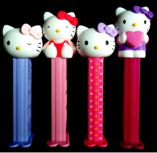 FEBRUARY 2015 RAFFLE WINNERS RECEIVE A COMPLETE SET OF EUROPEAN HELLO KITTY PEZ! WINNERS: Mike Lafaver, J.D. Phillips, Mary Williams