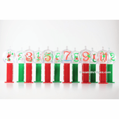NEW! 2019 12 Days of Christmas Pez Ornaments, Mint in Gift Box, Loose or Combo!