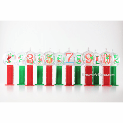 12 Days of Christmas Pez Ornaments, Mint in Gift Box, Loose or Combo!