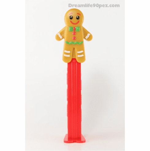 NEW! 2019 Gingerbread Man Pez, Loose