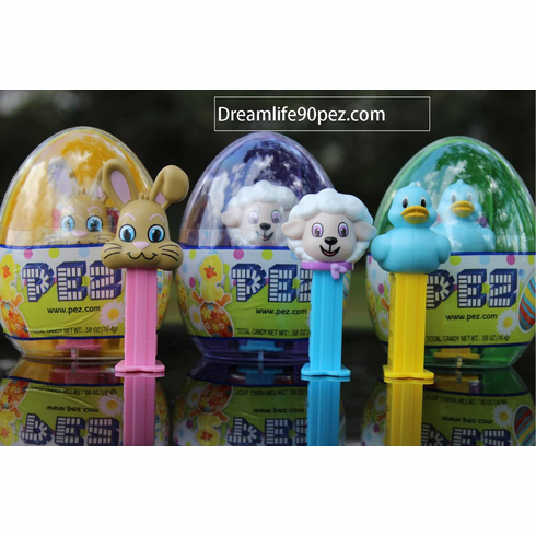 Easter Egg Mini Pez, Set of 3, Combo Pack