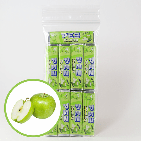 Green Apple Sours Pez Candy 9 Pack (No International Buyers, Please)