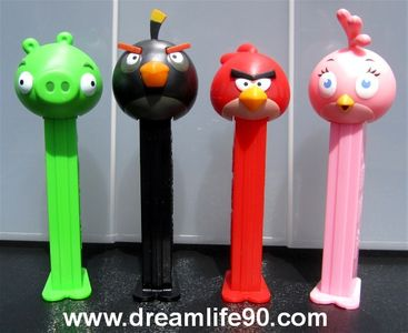 JUNE AND JULY ANGRY BIRDS PEZ RAFFLE TICKET WINNERS: Mark Speth, Tara Clarke, Bill Maguire,