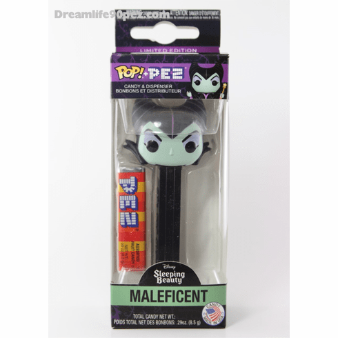 Maleficent Pez, Disney Villains, Funko Pez, Disney's Sleeping Beauty, Mint in Box