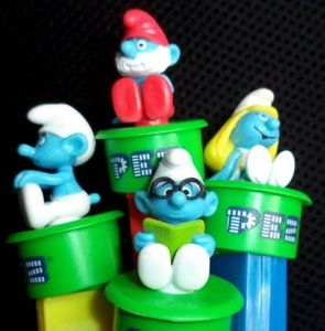 MARCH 2015 RAFFLE WINNERS RECEIVE A COMPLETE SET OF SMURFS CLICK N PLAY PEZ! WINNERS: Sharon Willis, Roger Mills, Shirley Black, Tripp Buford