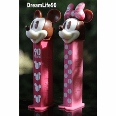 Mickey 90th Twin Pack Pez, Mickey & Minnie, Loose or Mint in Twin Pack