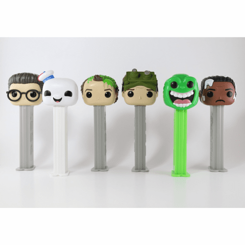 NEW! 2019 Ghost Busters Funko Pez, Set of 6, Choose Loose or Mint in Box