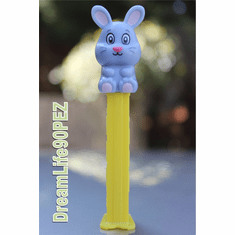 NEW! 2019 Grey Bunny Pez, Loose