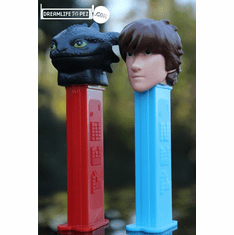 NEW! 2019 How to Train Your Dragon Pez, Toothless and Hiccup, Loose or Mint in Bag