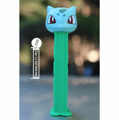 NEW! 2019 Pokemon Pez BULBASAUR, Plain Stem, Loose