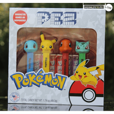 NEW! 2019 Pokemon Pez Gift Set, Printed Stems, Mint in Gift Set, Loose or Combo!