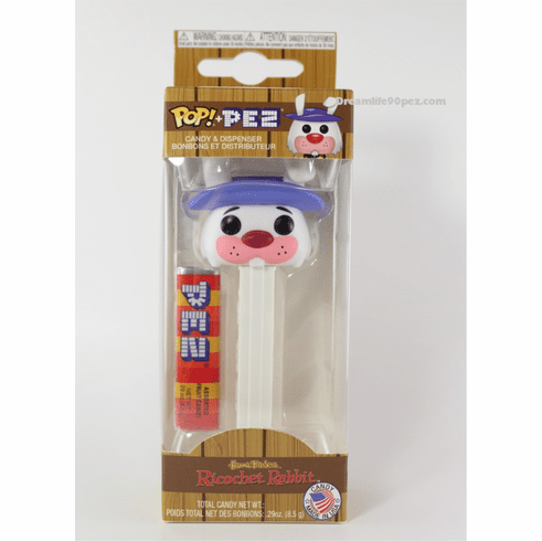 NEW! 2019 Ricochet Rabbit Funko Pez, Hanna Barbera, Loose or Mint in Box