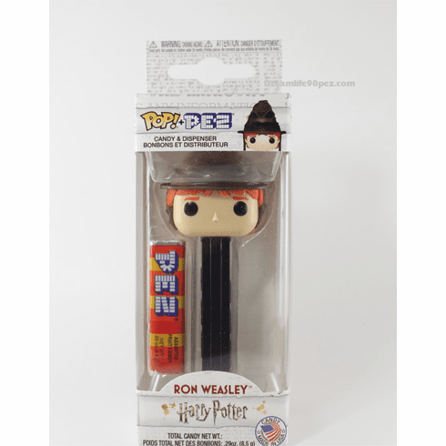 NEW! 2019 Ron Weasley Funko Pez, Choose Loose or Mint in Box!