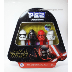 New! 2019 Star Wars Episode 9 Pez Gift Tin, Limited Edition (Mint in Tin or Loose) ONE PER CUSTOMER, PLEASE