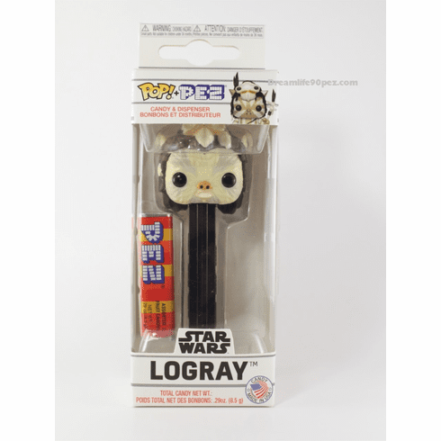 NEW! 2019 Star Wars Logray Funko Pez, Choose Loose or Mint in Box!