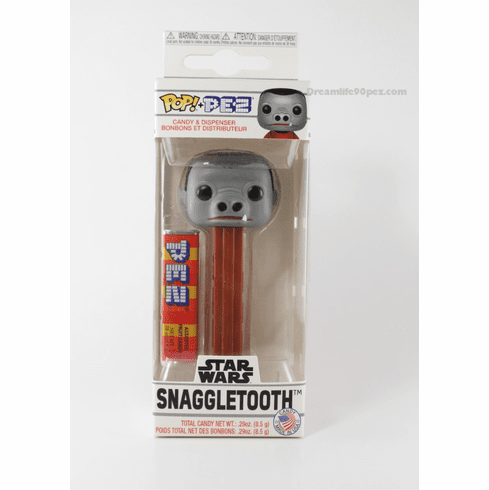 NEW! 2019 Star Wars Snaggletooth Funko Pez, Choose Loose or Mint in Box!
