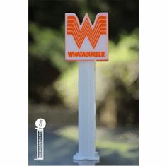 NEW! 2019 Whataburger Pez, Loose