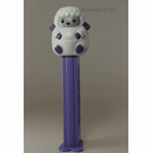 NEW! 2020 Easter Lamb Pez on Purple Stem! Loose, Mint in Bag or Combo!
