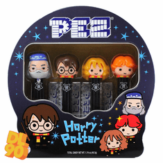NEW! 2020 Harry Potter Pez Gift Tin, with Harry, Hermione, Ron, Dumbledore! Loose or Mint in Gift Tin