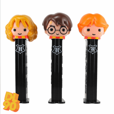 NEW! 2020 Harry Potter Pez, Harry Potter, Hermione and Ron, Loose or Mint in Bag, INCLUDES MYSTERY CANDY!