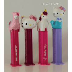 NEW! 2020 Hello Kitty Pez, Set of 4! (Loose, Mint in Bag or Combo!)