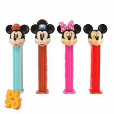NEW! 2020 Mickey and Friends Pez, Set of 4, New Mickey and Minnie, Steamboat Willie and Pillbox Minnie, CHOOSE LOOSE or MINT IN BAG!