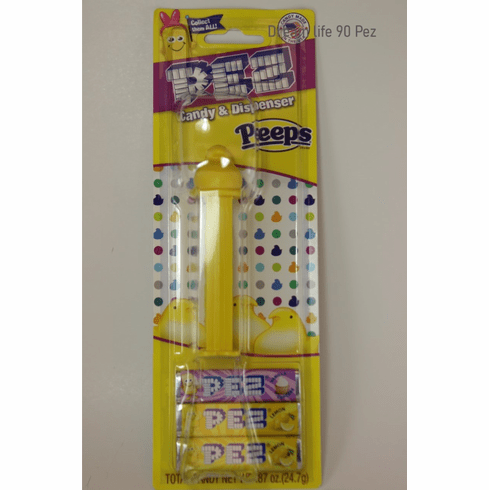 NEW! 2020 Peeps Pez, Yellow, Mint on Card!
