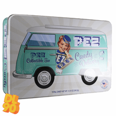 NEW! 2020 Pez Candy Collectible Tin, NO DISPENSER OR CANDY!