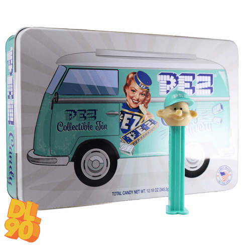 NEW! 2020 Pez Candy Collectible Tin with Exclusive Pez Boy Dispenser, Loose, Mint in Gift Tin or Combo! **No international buyers on the full candy gift tin, please**