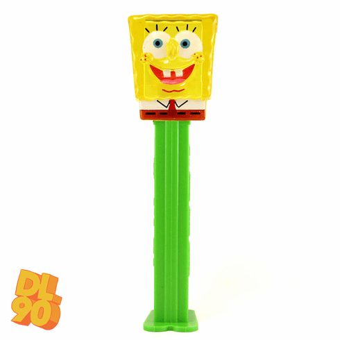 NEW! 2020 Spongebob Pez, Yellow Crystal, Loose or Mint in Bag