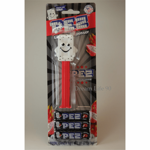NEW! 2021 Dragon Fruit Mascot Pez! Mint on Card ONE PER ORDER, THANK YOU! SOLD OUT