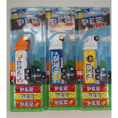 NEW! 2021 Pez Haulers, Set of 3, Loose OR Mint on Card!