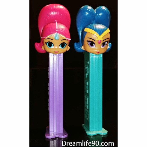 NEW for 2018! Shimmer & Shine Pez, Loose