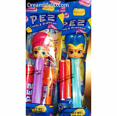 NEW for 2018! Shimmer & Shine Pez, Mint in Bag