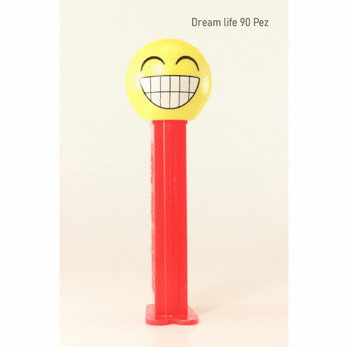 NEW for 2020! Cheesin Emoji Pez with Red Stem!
