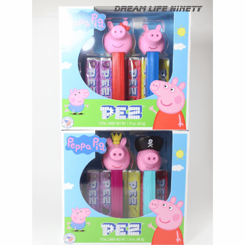 NEW! Peppa Pig Pez, Twin Packs ONLY 1 SET LEFT IN TWIN PACK BOXES!